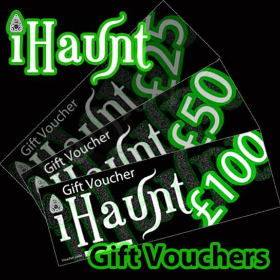 Ghost Hunting Gift Vouchers